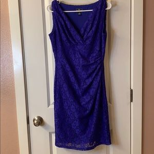 Purpleish blue dress